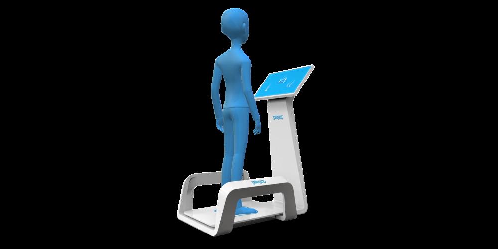 次世代の足型測定サービス「 FeetAxis」